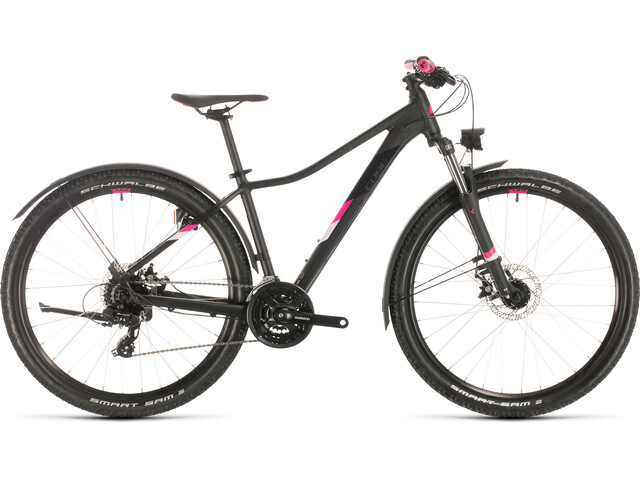 Cube Access WS Allroad Dames, black/berry